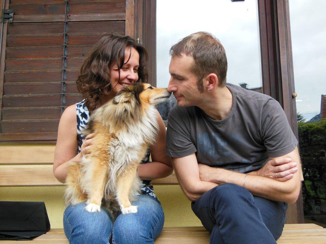 Fam. Ecker - Ohlsdorf mit Hund Vivo füttert auch das beste Hundefutter von Fedor Premium Tiernahrung!